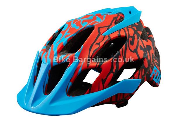 Fox Flux Cauz MTB Helmet 2016 blue, S, M, L, XL