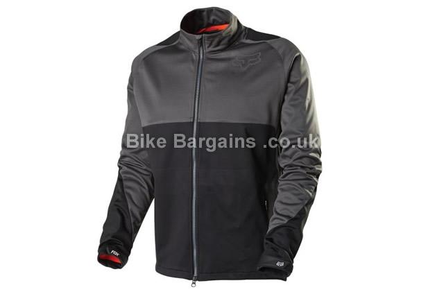 Fox Racing Bionic Waterproof Trail Softshell Jacket S, black