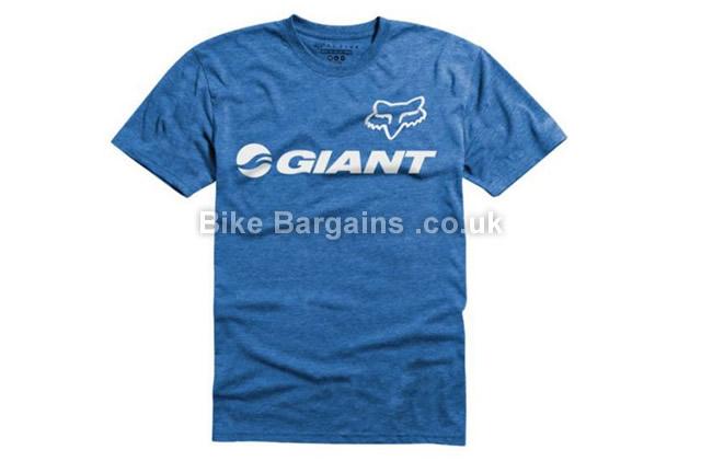 Fox Racing Giant Tech Casual T-Shirt 2015 S,L,Blue, Grey