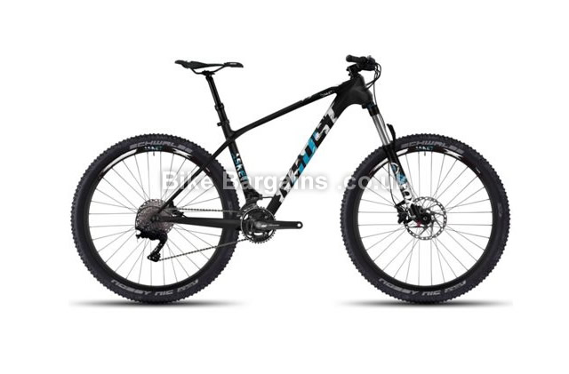 "Ghost Asket LC 3 Carbon Hardtail Mountain Bike 2016 16.5"", black"