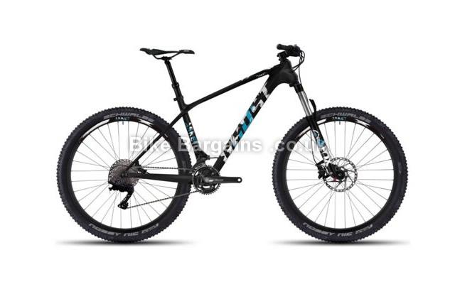 "Ghost Asket LC 3 Carbon Hardtail Mountain Bike 2016 16.5"", black"