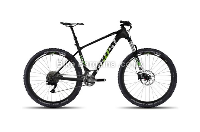 Ghost Asket LC 5 Carbon Hardtail Mountain Bike 2016 50cm, black