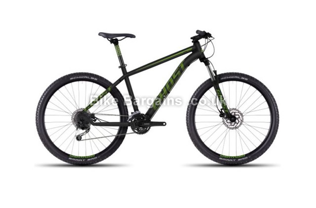 Ghost Kato 3 Alloy Hardtail Mountain Bike 2016 46cm, 50cm, black