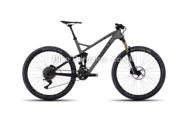 Ghost SL AMR LC 10 Alloy Full Suspension Mountain Bike 2016 52cm
