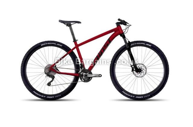 "Ghost Tacana X 6 29 inch Alloy Hardtail Mountain Bike 2016 15"", 16.5"", 18"""