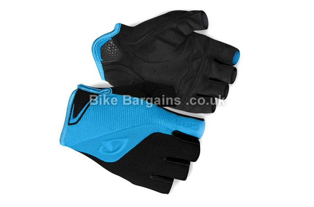 Giro Bravo Fingerless Cycling Gloves S,M,L,XL,white, black
