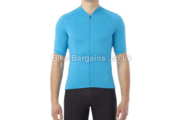 Giro Ride Lt Short Sleeve Polygiene Cycle Jersey S,M,L,XL,blue, grey