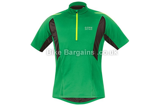Gore Bike Wear Countdown 2.0 Soft Shell Cycling Jersey green, S