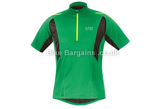 Gore Bike Wear Countdown 2.0 Soft Shell Cycling Jersey green, S