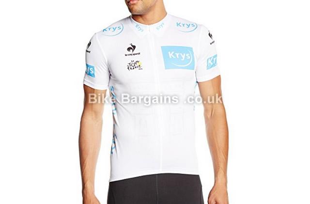 Le Coq Sportif Tour de France White Short Sleeve Jersey 2015 white, M,L,XL