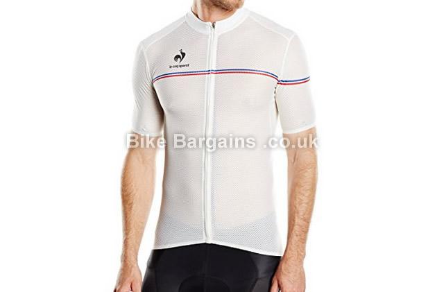 Le Coq Sportif Ultra Lightweight Jersey white, XXL