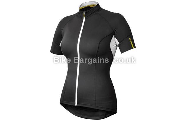 Mavic Ksyrium Elite Ladies Technical Jersey 2016 XS,M,L,XL,black, green, yellow
