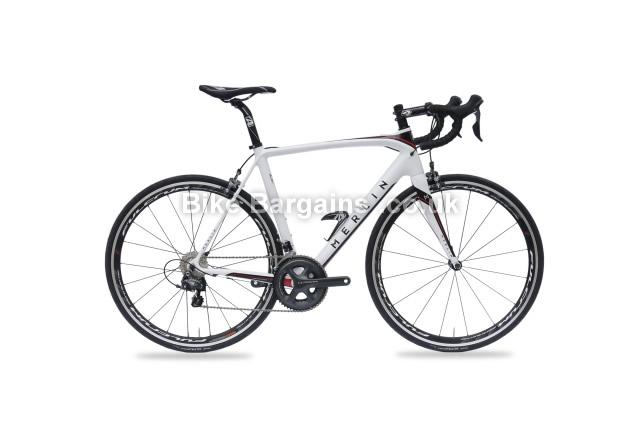 Merlin Cordite Ultegra Carbon Road Bike White, M
