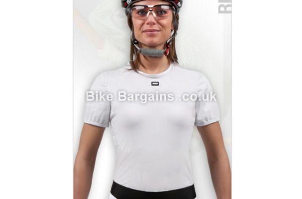 Moozes Ladies Short Sleeve Base Layer XL,XXL, White