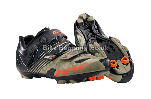 Northwave Hammer SRS MTB SPD Shoes 2016 38, 42, 43, 45, 46, black, orange, white