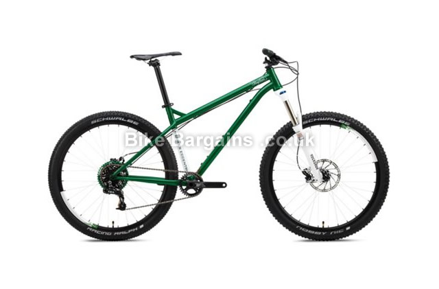 NS Bikes Eccentric Cromo Hardtail Mountain Bike 2016 Green, M