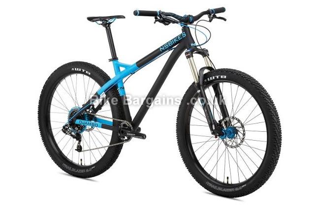 NS Bikes Eccentric Djambo Alloy Hardtail Mountain Bike 2016 S,M,L, black