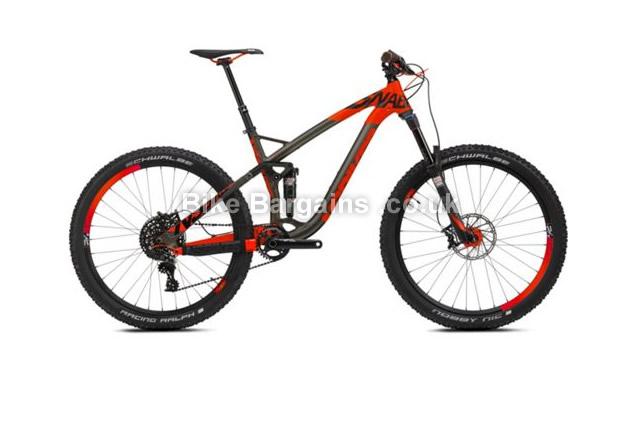 "NS Bikes Snabb T1 Alloy Full Suspension Mountain Bike 2016 15.5"""