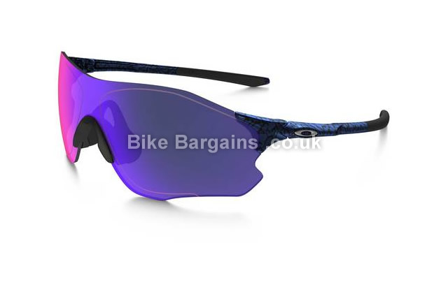 Oakley EVZero Range Red Iridium Lens Cycle Sunglasses blue, black
