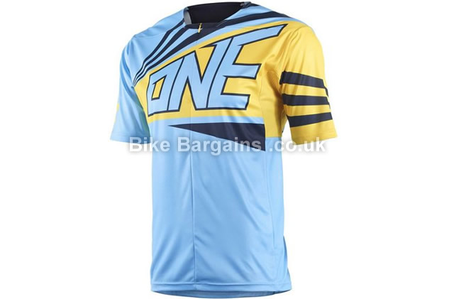 One Industries Ion 1-4 Zip Short Sleeve Cycling Jersey L,XL