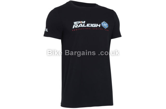 Primal Team Raleigh Black Casual T-Shirt black, S