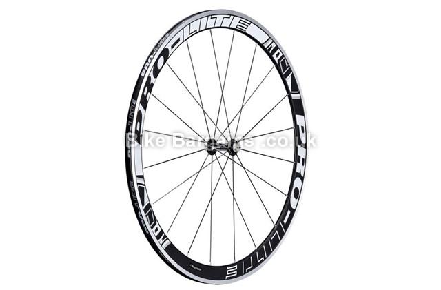 Pro-Lite Bracciano A42 Alloy Aero Clincher Road Cycling Wheelset black, shimano