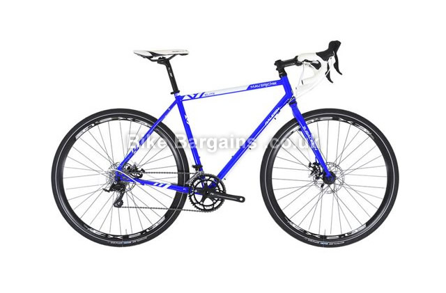 Raleigh Maverick Elite Cro-Mo Cyclo-Cross Bike 2016 52cm, 54cm, 56cm,58cm,blue
