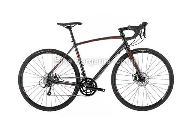 Raleigh Ral Mustang Sport Alloy Disc Road Bike 2016 52cm, 58cm, 60cm, black