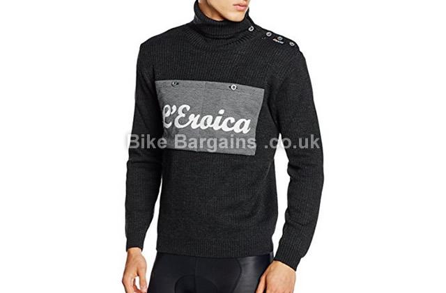 Santini Wool Casual Long Sleeve Jersey grey, L
