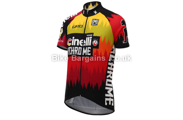 Santini Cinelli Chrome Short Sleeve Jersey S,M,L,XL