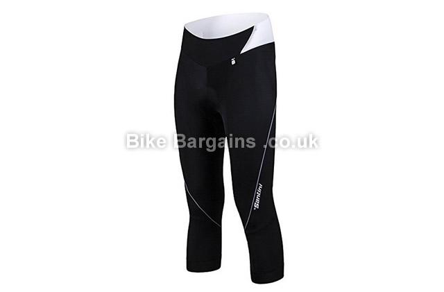 Santini Mearesy Ladies Pro Grace 3/4 Shorts black, XL, XXL