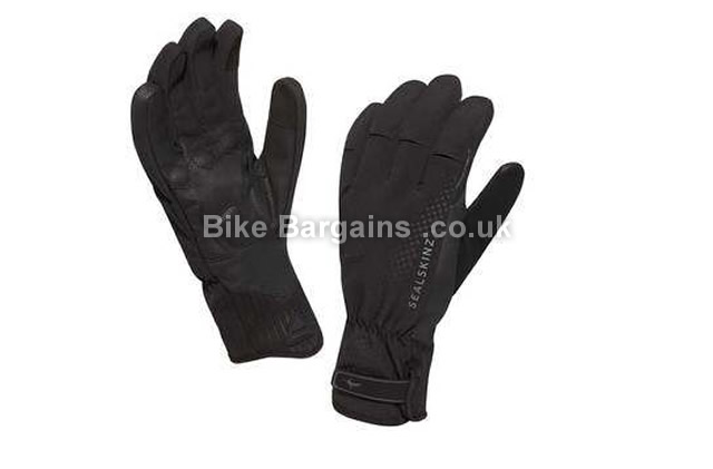 SealSkinz Highland XP Waterproof Windproof Cycling Glove S,M,L,XL, black