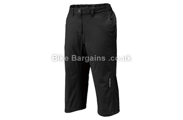 Shimano Ladies Loose Fit Comfort 3-4 Pants black, M, L, XL