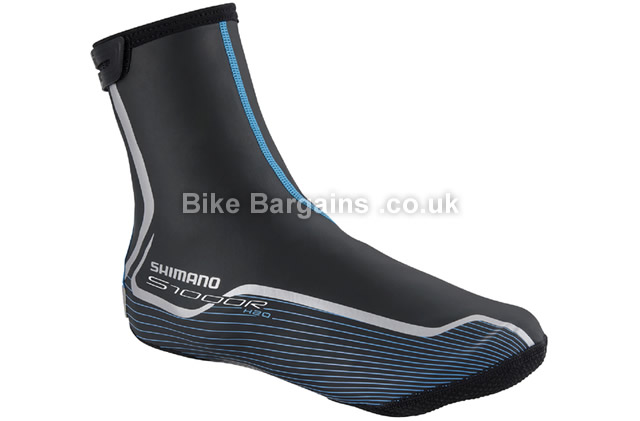 Shimano S1000R H20 Road Cycling Waterproof Overshoes 44-47, black