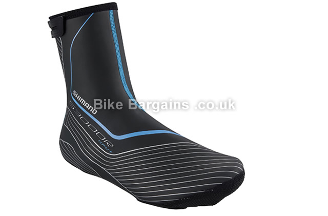 Shimano S3000R NPU 3mm Waterproof Road Overshoes XS,S,M,L,XL, black