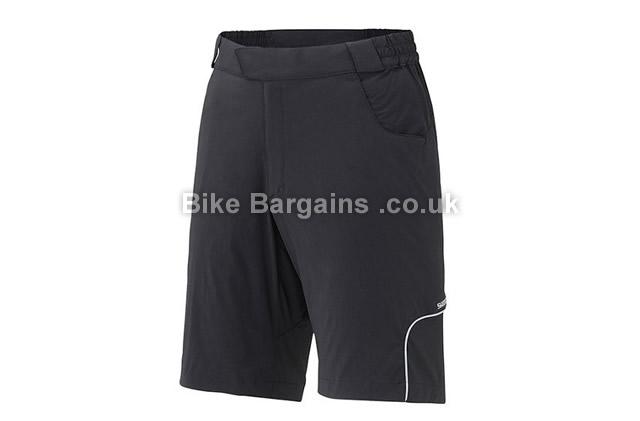Shimano Touring Baggy Shorts black,blue, XL