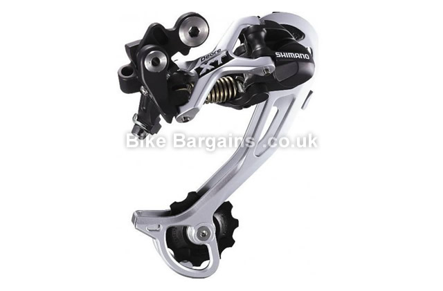 Shimano XT M722 9 Speed Shadow Long Cage MTB Rear Derailleur Long