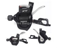 Shimano XT M780 10 Speed Trigger MTB Gear Shifter Set