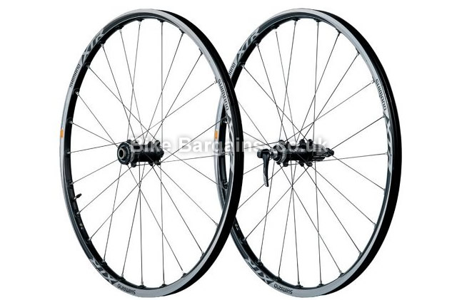 "Shimano XTR M985 Race 26 inch Mountain Bike Disc Wheelset 26"", QR"