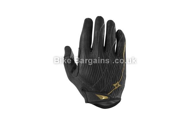 Specialized Ladies Body Geometry Ridge WireTap Cycling Gloves L, Black, Yellow