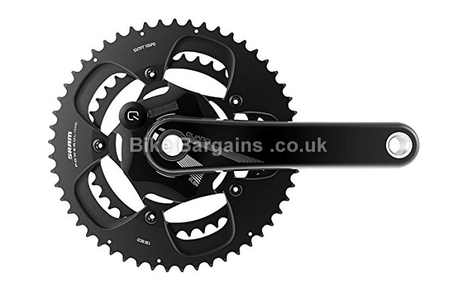 SRAM Quarq Elsa R Road Powermeter BB30 Chainset 172.5mm, black