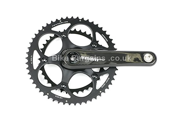 Sram S950 10-Speed 46-36T BB30 Road Chainset black, 175mm
