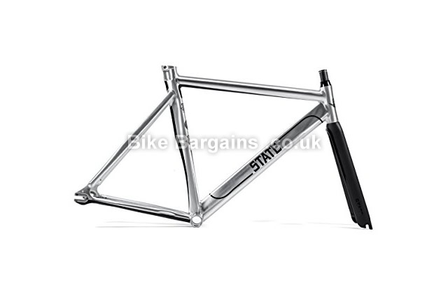State Bicycle Undefeated 2.0 Alloy 7005 Fixie Track Bike Frameset 57cm, polished