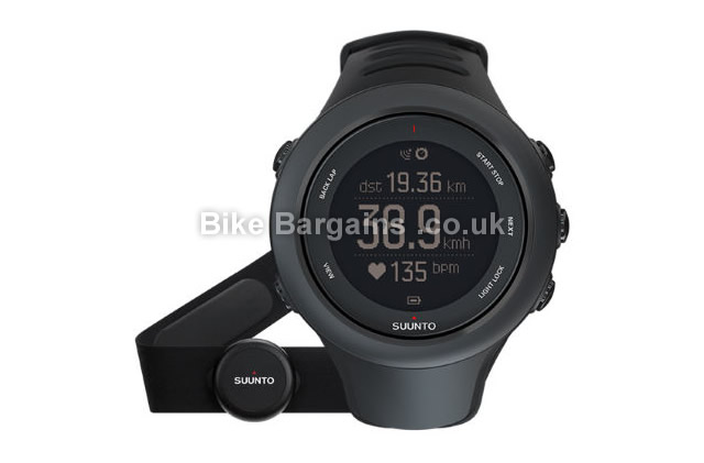 Suunto Ambit 3 Sports HRM GPS Cycle Watch Blue