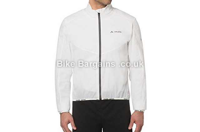 Vaude Air Lightweight Wind Cycling Jacket white, XL