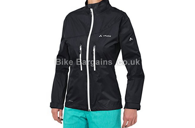 Vaude Ladies Tremalzo Cycling Rain Jacket black, 42