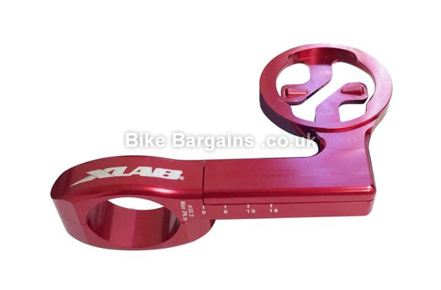 XLab C-Fast Garmin Edge Handlebar Computer Mount red, alloy