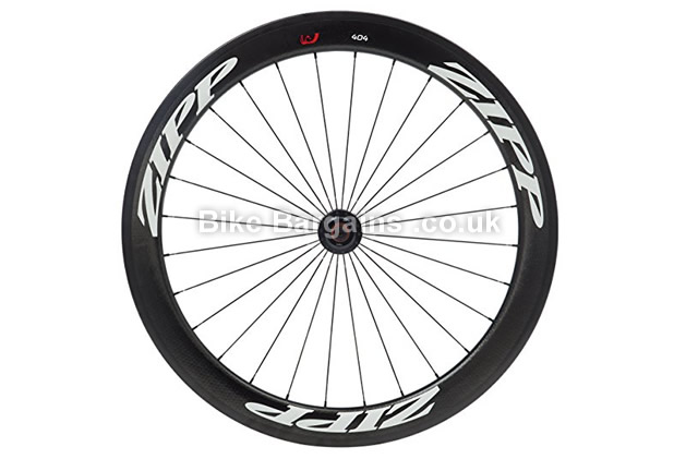 Zipp 404 Firecrest Tubular Track Cycling Front Wheel black