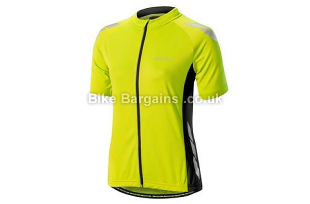 Altura Night Vision Ladies Commuter Short Sleeve Jersey 2016 10,14,16, Red