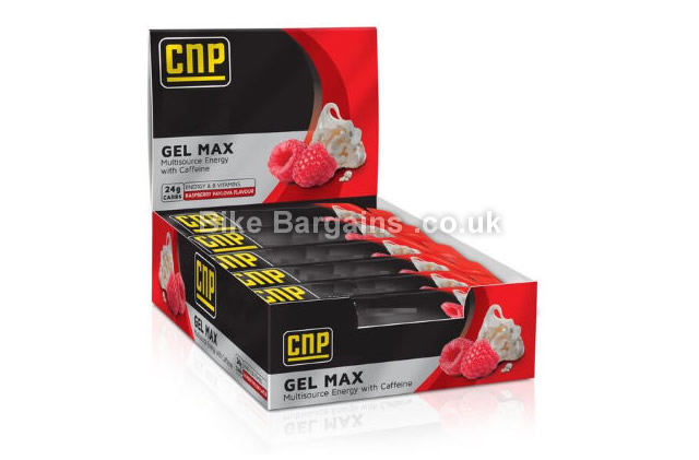 CNP Gel Max 45g 24 pack raspberry